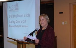 Women's Voices president Lise Bernstein