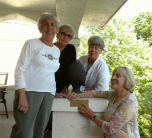 Barbara Finch, Ruth Ann Cioci, Ann Ruger and Joanne Kelly
