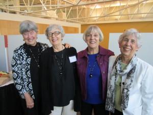 Ann Ruger, Ruth Ann Cioci, Joanne Kelly, Barbara Finch