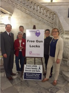 Mayor Slay with members of Women's Voices